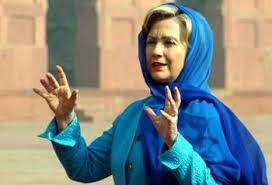 Killary is an apologist for Sharia and all it's evils