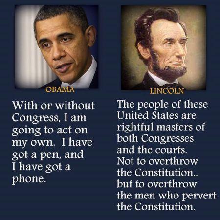 Lincoln-Obama comparison