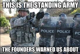 the standing army