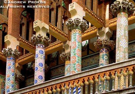 barcelona-musica-catalana-mosaic-columns
