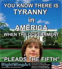 Lois Lerner pleads the 5th