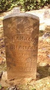 Grave of Sarah Bohanan