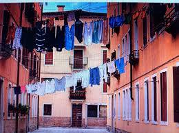 Laundry in Italy