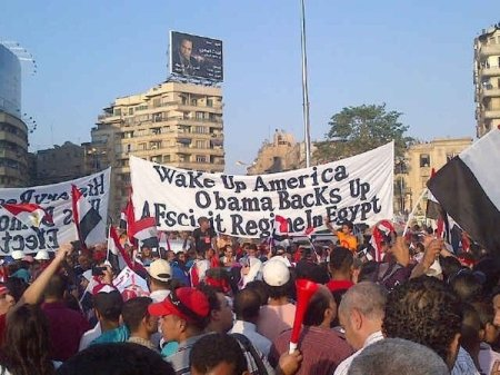 Egyptians against Morsi