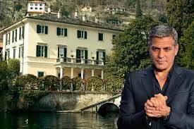 Geo Clooney Como Villa
