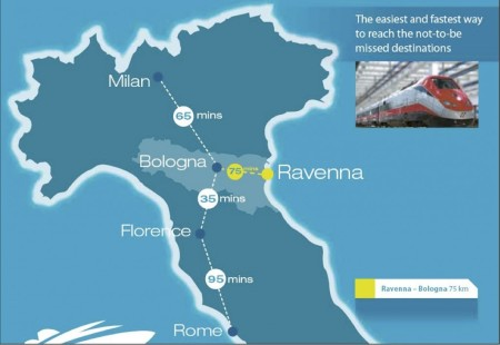 Trian route to Ravenna